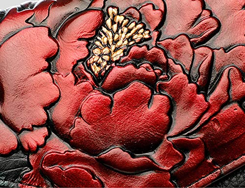 Banquet dragonne 30x12x3cm A Fleur Femmes B de Jours Sac amp; Sac Pochette Bal Parti avec soirée d'épaule soirée Et de fériés Cuir d'autres de en Impression Sangle 12x5x1inch qxz6zpXw4