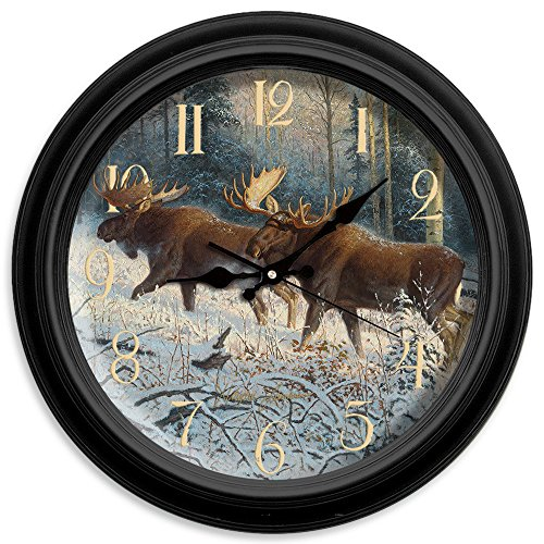 Reflective Art No Mans Land Classic Clock, 16-Inch