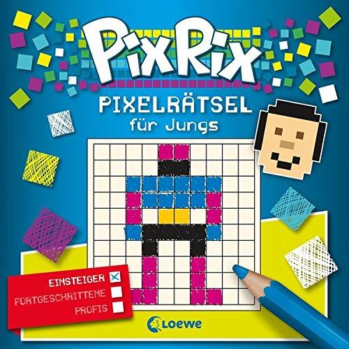 Pix Rix: Pixelrätsel für Jungs
