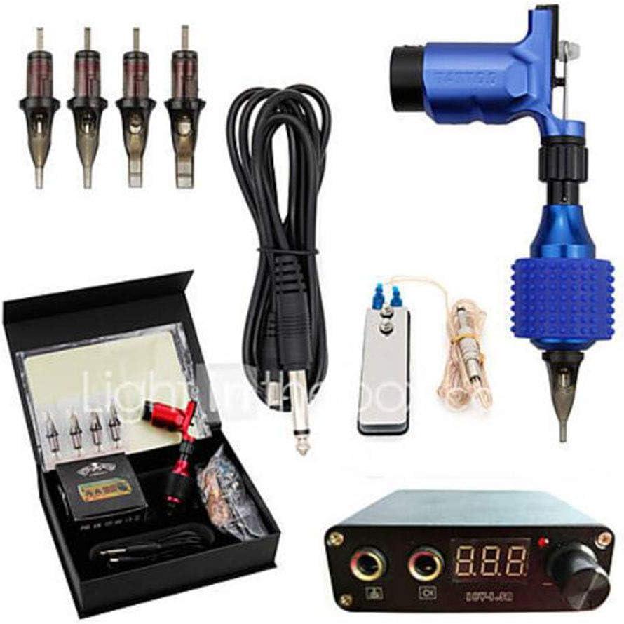 Máquina de Tatuaje Professional Tattoo Kit de 1PCS Tattoo de máquinas, Professional/Kits/fáciles de configuración de aluminio aleación 1giratorio eléctrica Liner & Shader