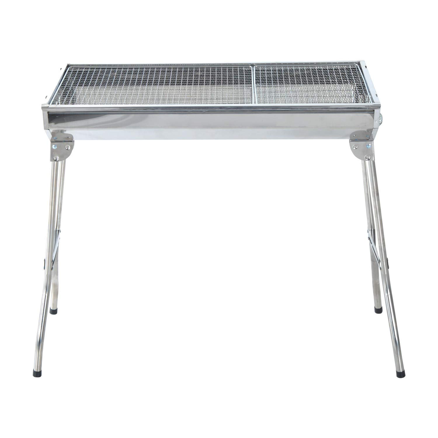 DoitY 35 Inch Stainless Steel Portable Folding Charcoal BBQ Grill