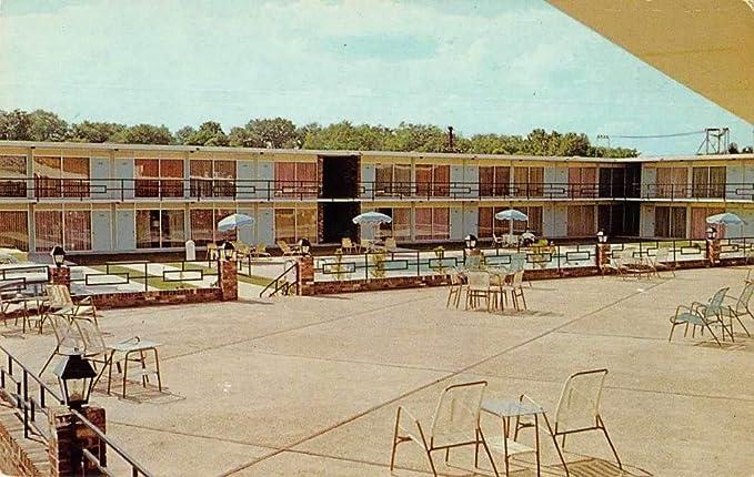 Tupelo Mississippi Holiday Inn Swimming Pool Vintage ...