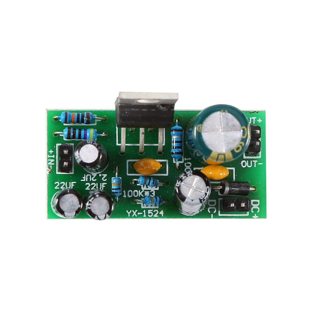 Tda2030a Single Power Supply Mono Amplifier Board 18w Audio Circuit And Explanation Electronic Circuits Module With Heatsink Dc 9 24v Diy Kit Industrial Scientific