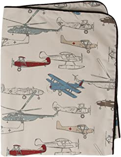 product image for Glenna Jean Fly-by Throw, Airplane Print