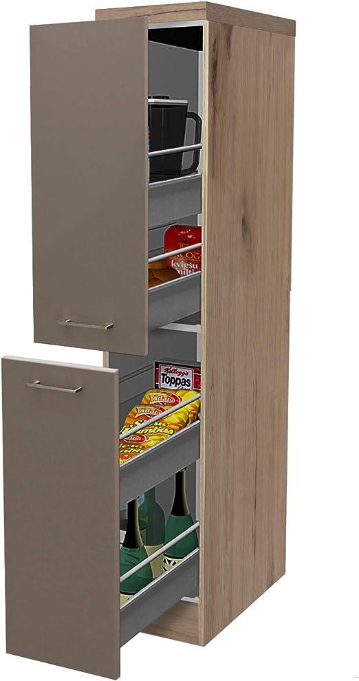 Küchenmöbel Flex-Well Unterschrank Riva 100 cm Küchenschrank Schrank