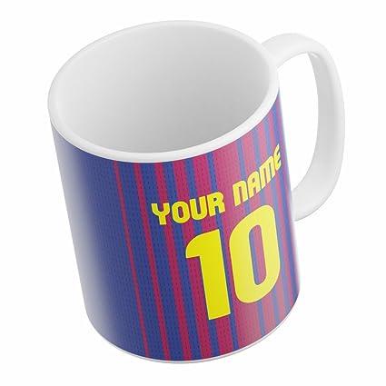 zupaco barcelona theme ceramic printed designer customized coffee mug for football fans
