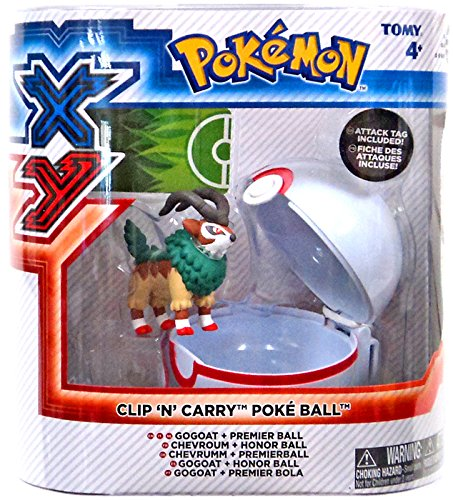 Pokemon Pokeball Gogoat Premier Tomy