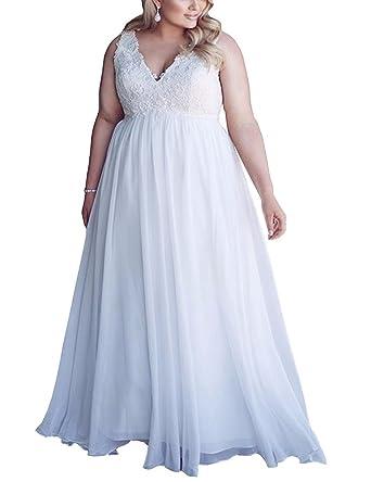 Yunuo Wedding Dress Chiffon Applique Beach Wedding Dresses Long