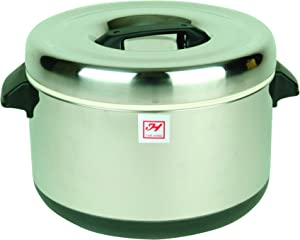 Thunder Group SEJ74000 60-Cup Stainless Steel Insulated Sushi Pot