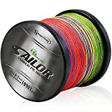Sougayilang USGD-SSX1000-12 Superline Braided Fishing Line High Abrasion Resistance Power PE Lines Smooth Casting Line