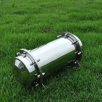 """10.2/"""" Stainless Steel Time Capsule Waterproof Lock Container Storage Future Gift"""