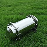 """Stainless Steel Time Capsule Waterproof Lock Container Storage Future Gift 10.2"""""""