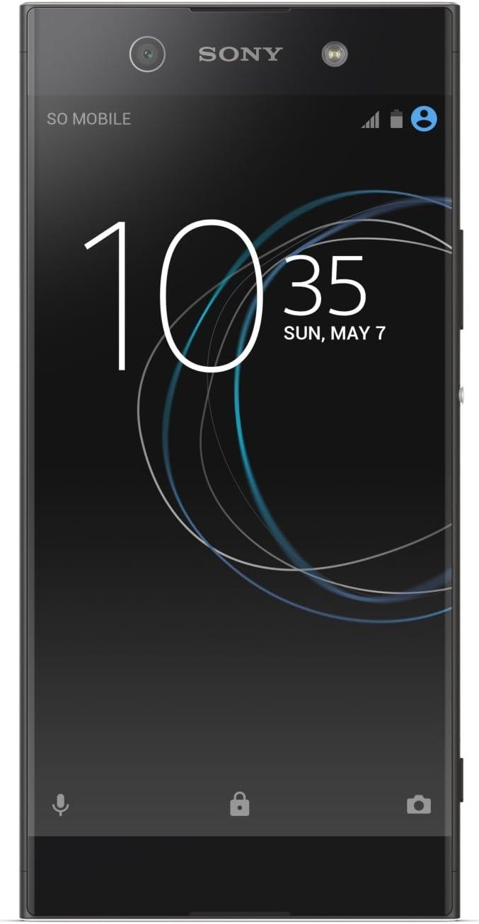 Sony Xperia XA1 Ultra Smartphone, Memoria Interna da 32 GB, Nero