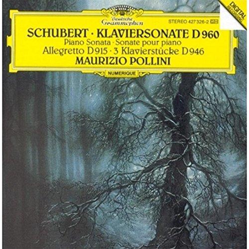 Schubert: Piano Sonata No. 21, d. 960 / Allegretto, d. 915 / 3 Klavierstucke (Piano Pieces), d. - No Shop 21