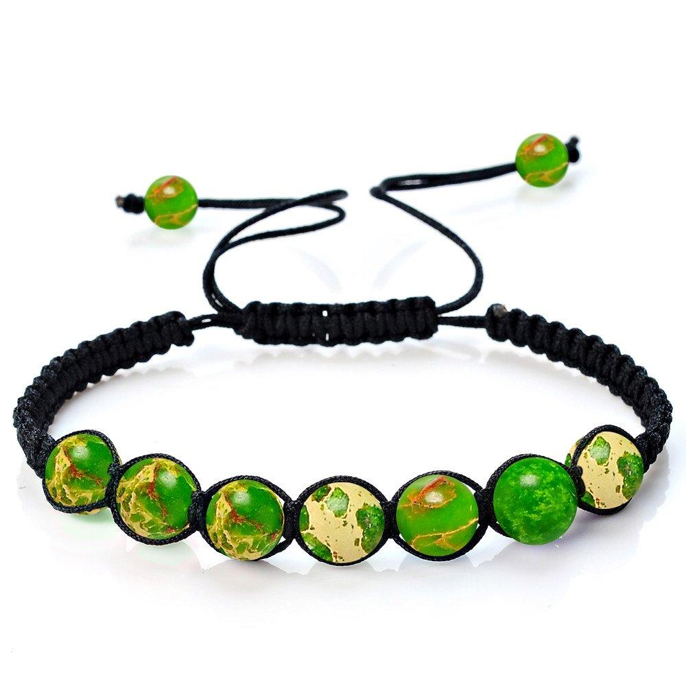 Dream_Mimi Balance Beads Bracelet Yoga Life Energy Bracelet Casual Jewelry Bracelet Bangle