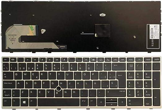 YUHUAI Reemplazo de Laptop Teclado Adecuado para HP EiteBook ...