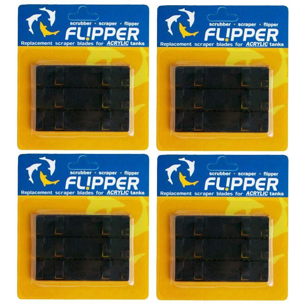 Flipper Standard Replacement ABS Blades 12-Pack