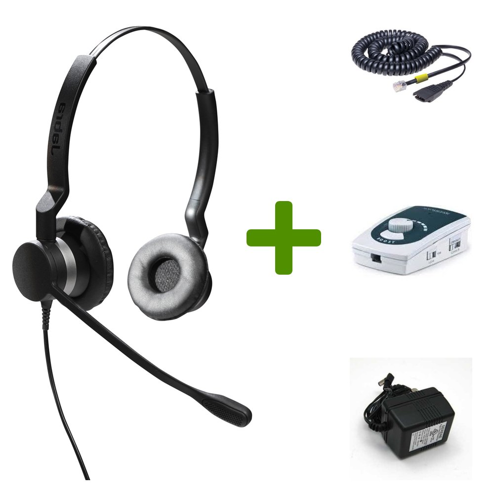 UA45 Bundle with Power Adapter and BIZ2325 Duo Direct Connect Headset (GN 2325 NCD-UA45-B)