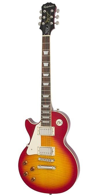 Epiphone Les Paul Standard Plustop PRO - Guitarra eléctrica, color heritage cherry sunburst: Amazon.es: Instrumentos musicales