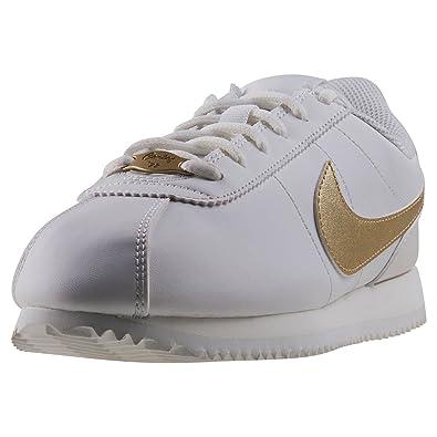 Nike Herren Cortez Basic SL (GS) Traillaufschuhe Weiß EU