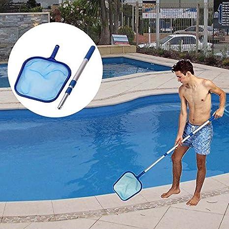 Laubkescher Kunststoff Pool Schwimmbad Schwimmbadreinigung Poolkescher
