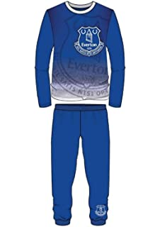 """4-5 up to 11-12 years NEW BOYS OFFICIAL EVERTON F.C /""""THE BLUES/"""" PYJAMAS AGES"""