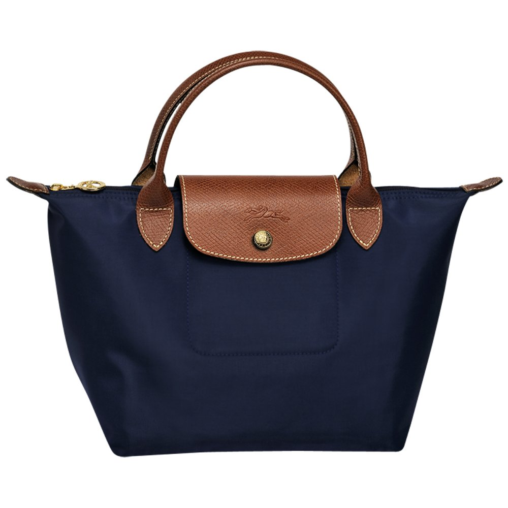 - Longchanp Le Pliage Small Shoulder Tote Bag Navy blueie