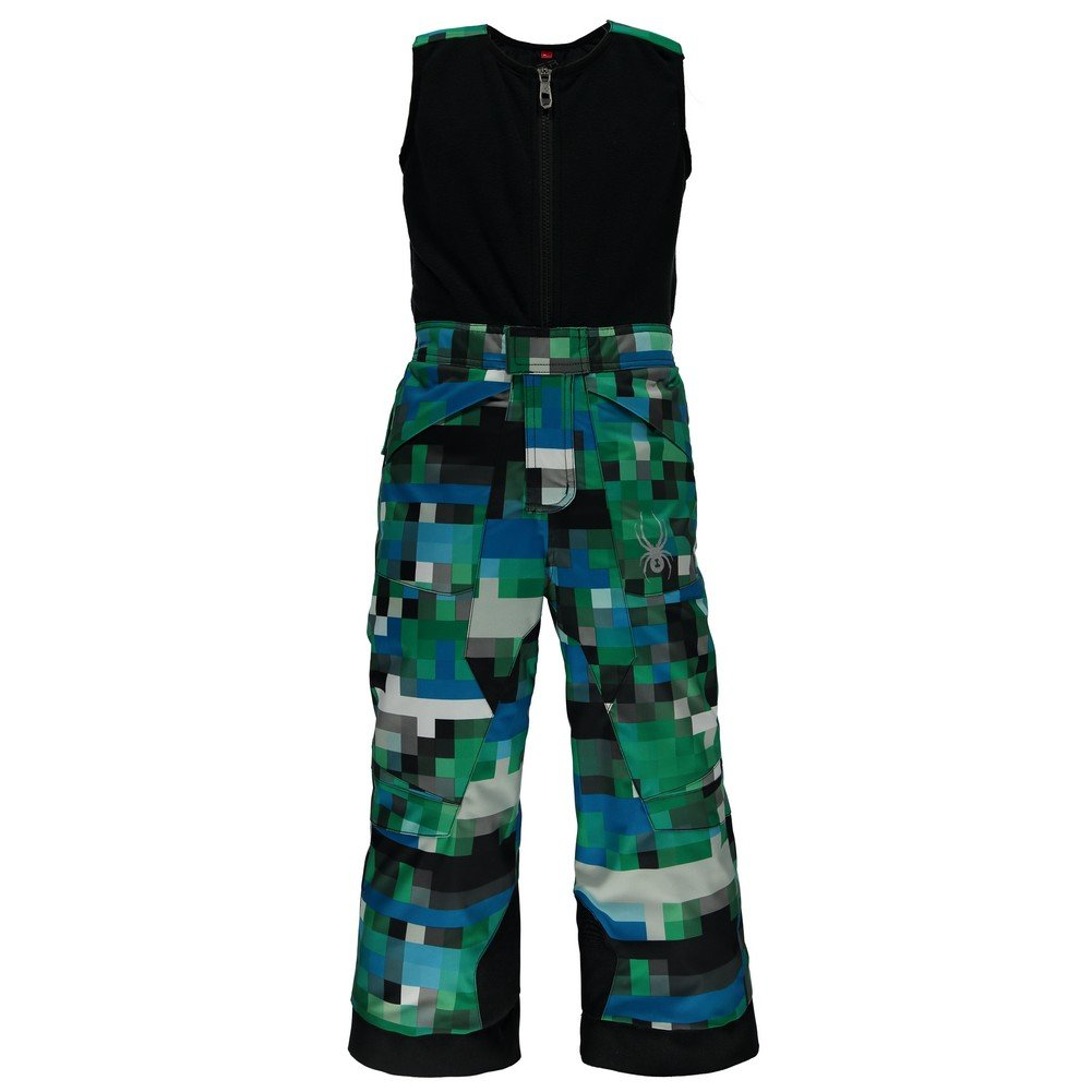 Spyder Boys Mini Expedition Pants, Size 3, Pixel Electric Blue Print