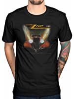 Officiail ZZ Top Eliminator Distressed T-Shirt Merchendise Clothing Outlaw Village