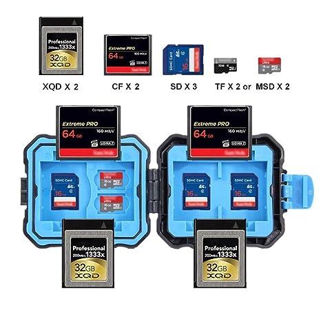 SD Funda para tarjeta de memoria, bescita Mini tarjeta de ...