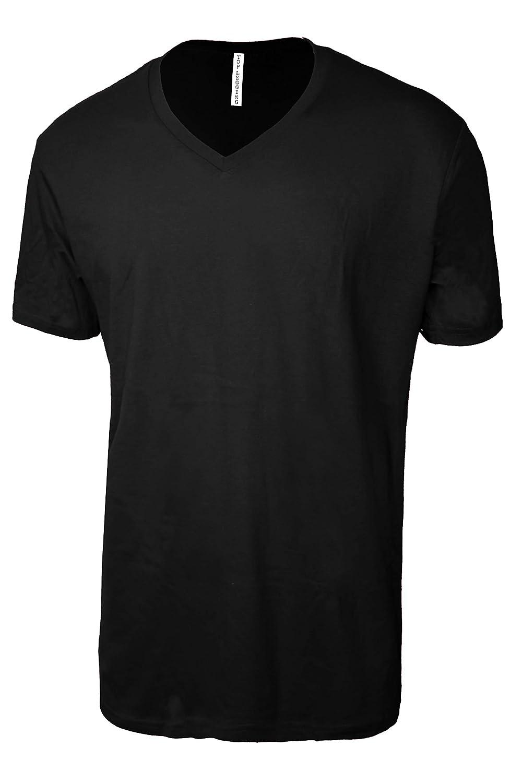 f1a7ed0d2d22 Amazon.com: TOP LEGGING TL Men Casual Basic Short Sleeve Tri-Blend/100% Cotton  V-Neck T Shirt: Clothing