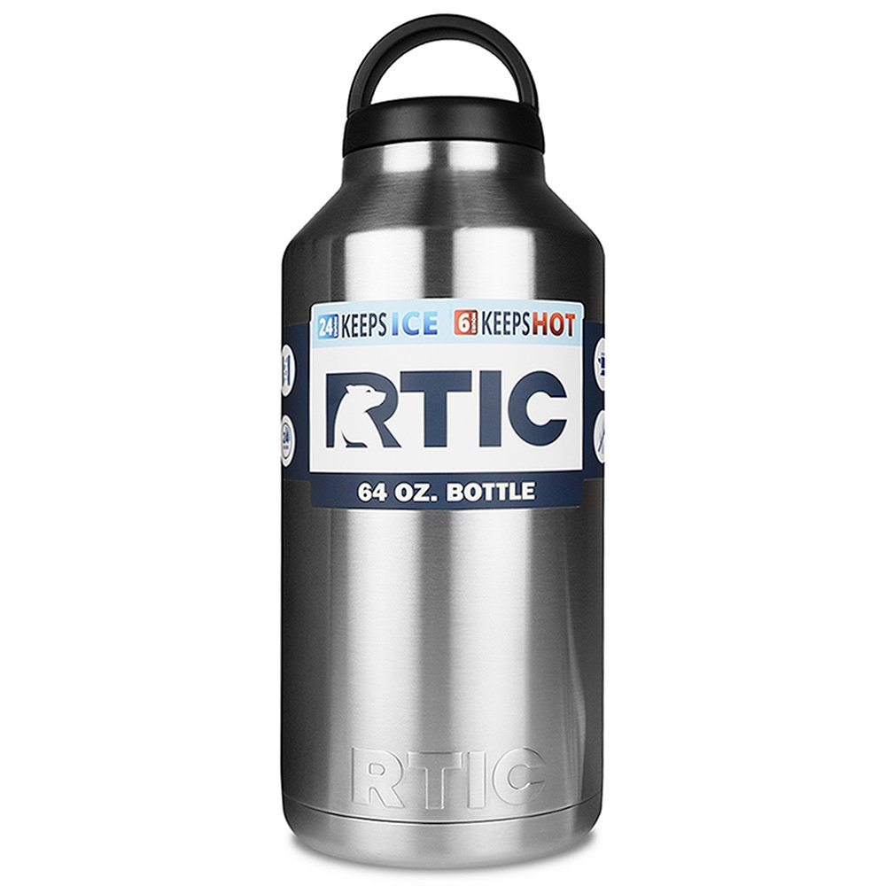 Amazon Rtic Stainless Steel 64oz Bottle 16 99 Shipped