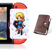 boshile 24 Pcs with Zelda Link's Awakening Botw NFC Cards for The Legend of Zelda Breath of The Wild Switch/Wii U- 24…