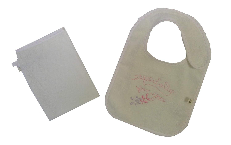 0-1 Year Age Baby Poncho//Layette Set 100/% Organic Cotton