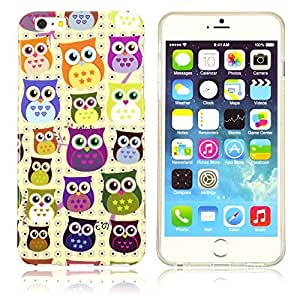 OnlineBestDigital - Designer Soft Case Cover for Apple iPhone 6 Plus (5.5 inch) Smartphone - IP6P-HP02-OWL3