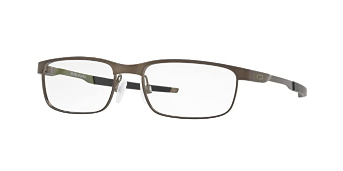 76e4fa3998a Image Unavailable. Image not available for. Color  OAKLEY OX3222 - 322205 STEEL  PLATE Eyeglasses 52mm