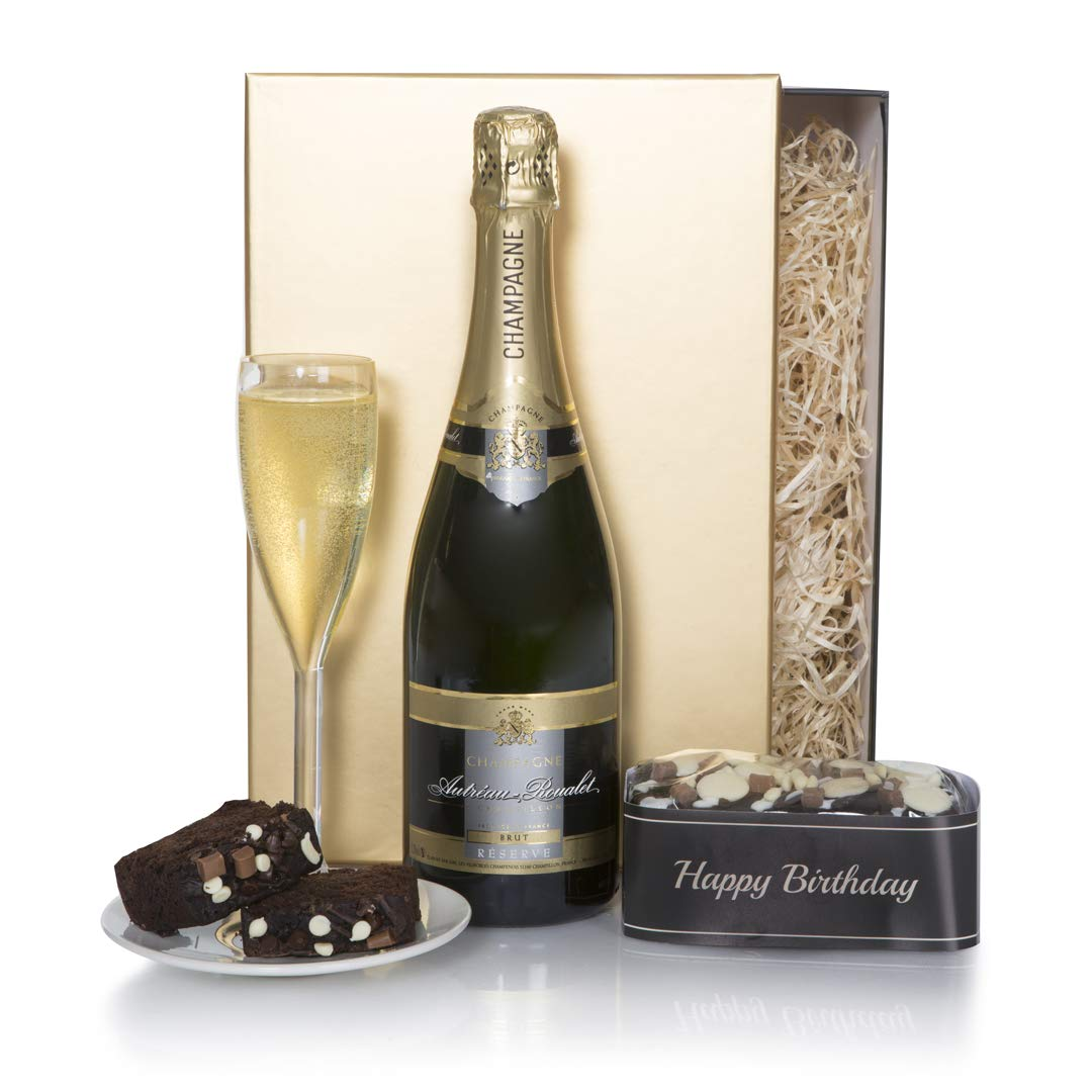 Happy Birthday Hamper Champagne And Chocolates Birthday Gifts Birthday Gift Hamper With Champagne Birthday Chocolate Cake Buy Online In Sweden At Sweden Desertcart Com Productid 64057995