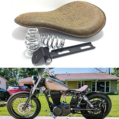 HANEU Motorcycle Solo Seat Spring Bracket Mount Kit For Yamaha Sportster Bobber Chopper