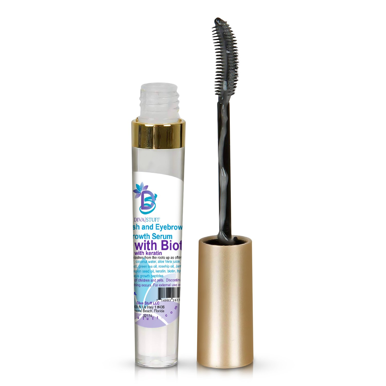 Amazon Diva Stuff Bold With Biotin Eyelash And Eyebrow Growth
