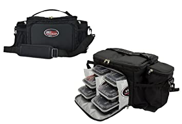 Isolator Fitness Isobag 6 Meal Management System Black/Black / Insulated Lunch Box / Insulated  sc 1 st  Amazon.com & Amazon.com - Isolator Fitness Isobag 6 Meal Management System ... Aboutintivar.Com
