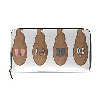 Kawaii Divertido Emoji Lindo Poop Cartoon Largo Pasaporte ...