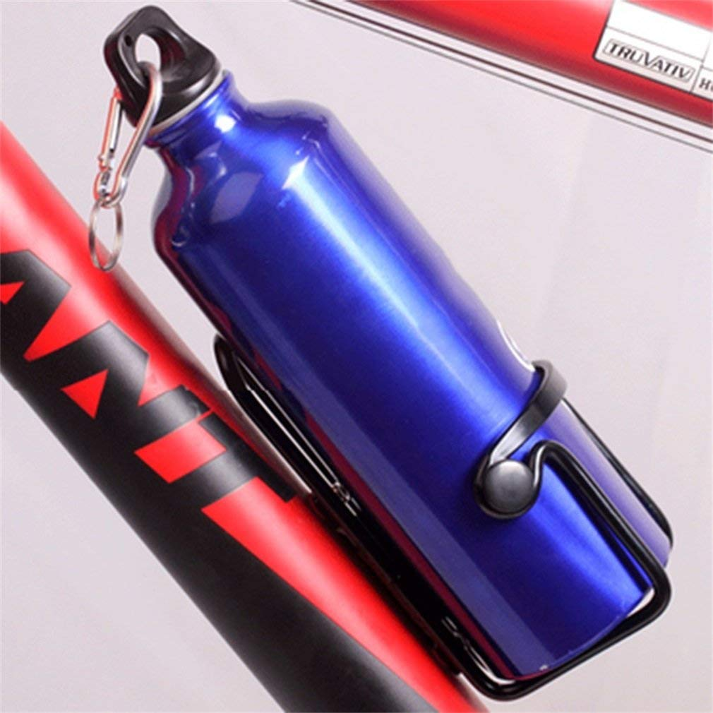 MooMax Bike Water Bottle Holder No Screws Mountain Bicycle Double Beads Aluminum Sports Water Bottle Holder Cage Drinks