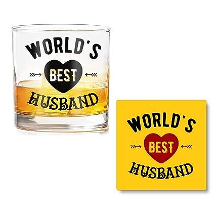 Ramposh Whiskey Glasses For Husband Gift For Husband Birthday