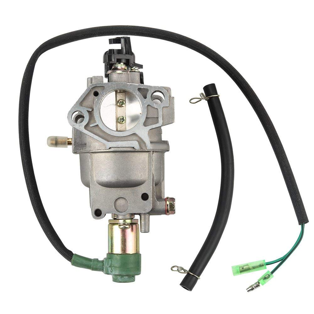 Woworld New Carburetor with Gasket Fuel Line Insulator for Honda GX340 Gx390 188F Engine 5KW 13hp Generator Engine Carb