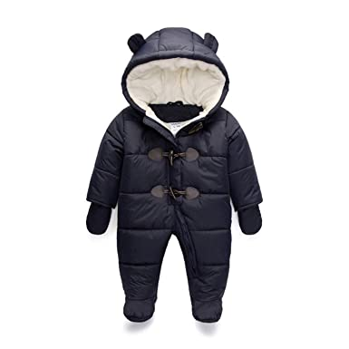 56ee2d1227be Amazon.com  Aancy Baby Boy Winter Rompers Clothes Children Girl ...
