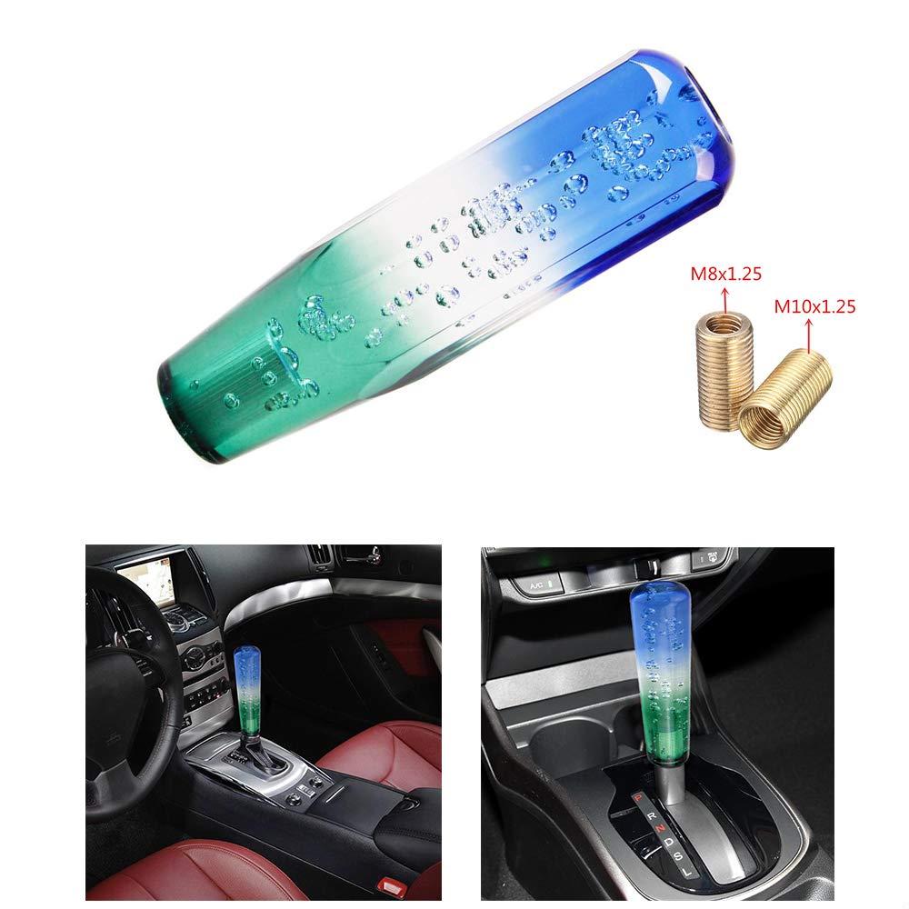 25CM MASO Car Speed Gear Shift Knob Universal Manual Gear Lever White+Pink