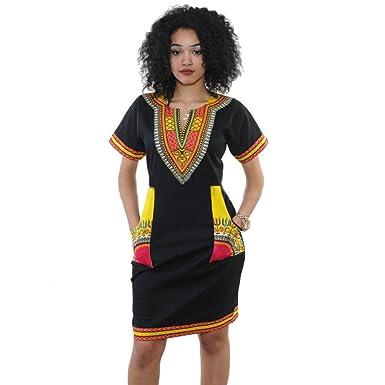 Amazon.com: siviki vestido de mujer, mujeres Sexy cuello ...