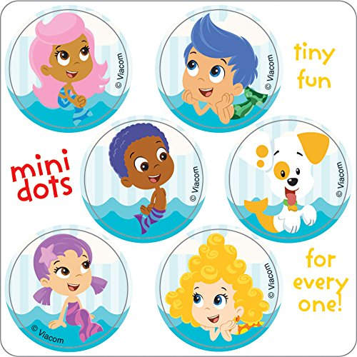Bubble Guppies Mini Dots Stickers - Birthday Party Supplies & Favors - 600 per Pack for $<!--$11.98-->