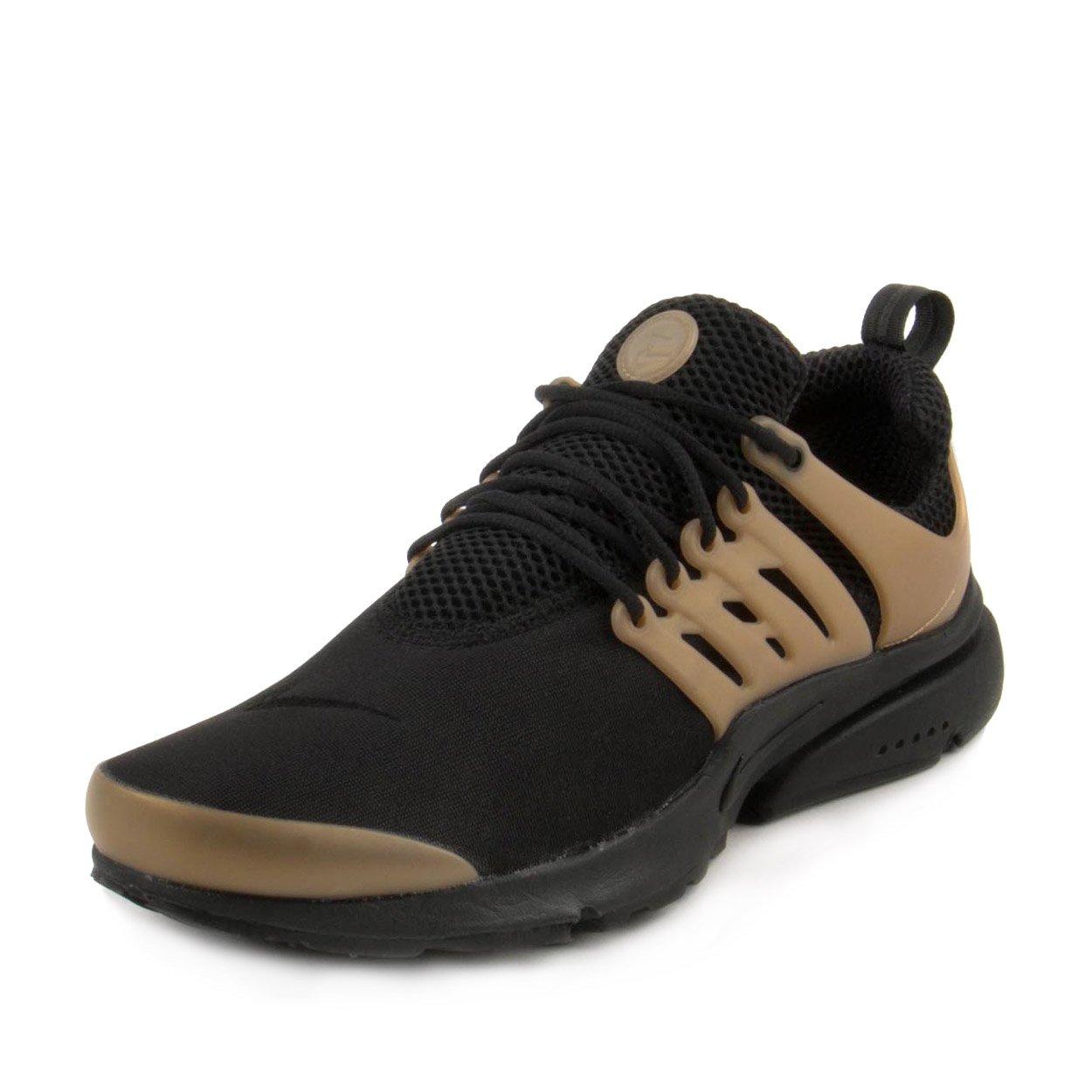 Nike Mens Air Presto Essential Black/Metallic Gold Neoprene Size 14