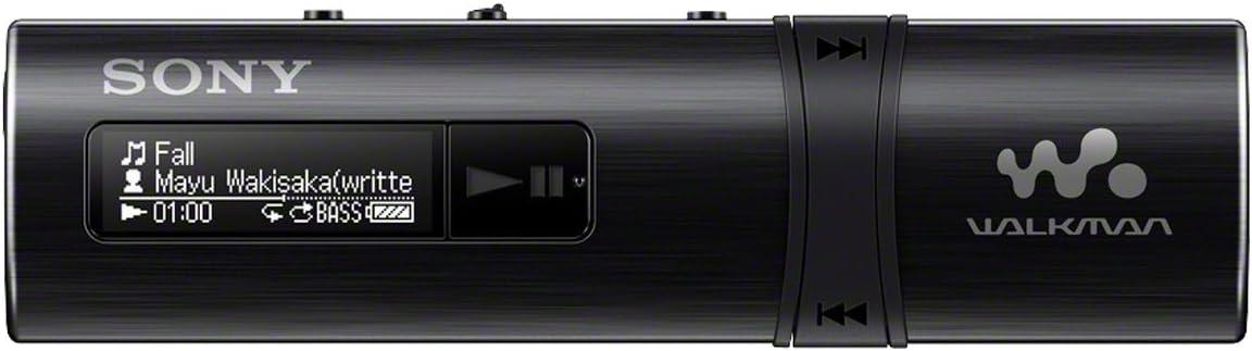 Sony Walkman NWZ-B183F/BC - Reproductor de MP3 (4 GB, radio), negro